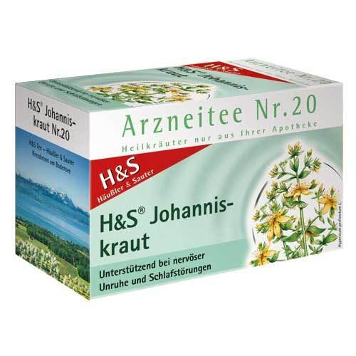 H&S Johanniskraut Filterbeutel - 1