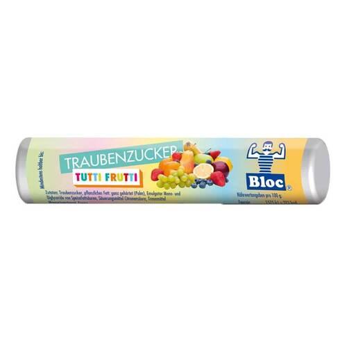Bloc Traubenzucker Tutti Frutti Rolle - 1