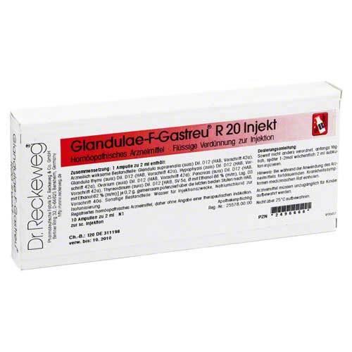 Glandulae F Gastreu R 20 Injekt Ampullen - 1
