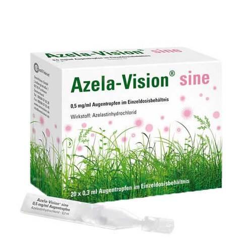 Azela-Vision sine 0,5 mg / ml Augentropfeni.Einzeldosis. - 1
