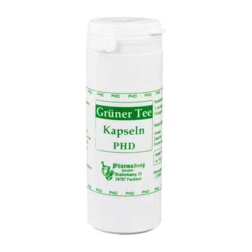 Grüner Tee Kapseln PHD - 1