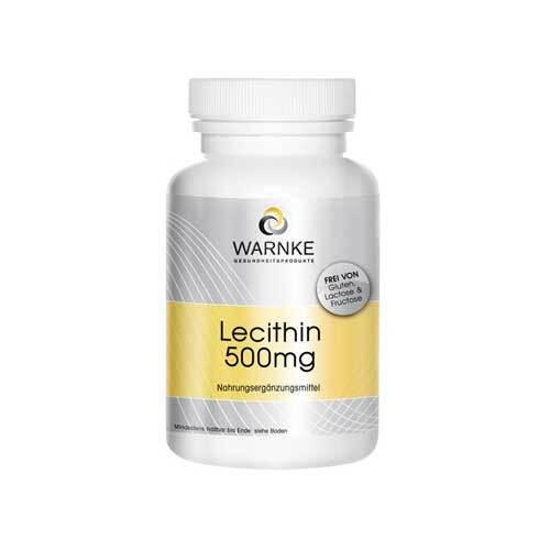 Lecithin 500 mg Kapseln - 1
