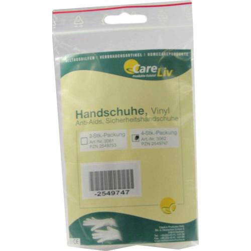Handschuhe Vinyl Anti Aids - 1