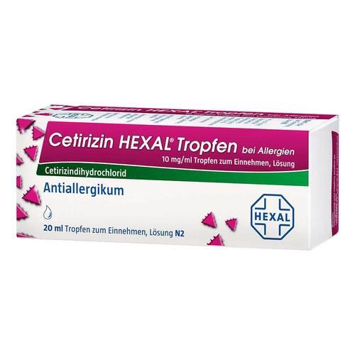 Cetirizin Hexal Tropfen bei Allergien - 1