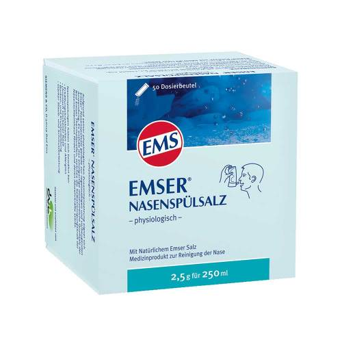Emser Nasenspülsalz physiologisch Beutel - 1