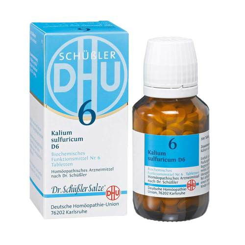 Biochemie DHU 6 Kalium sulfuricum D 6 Tabletten - 1