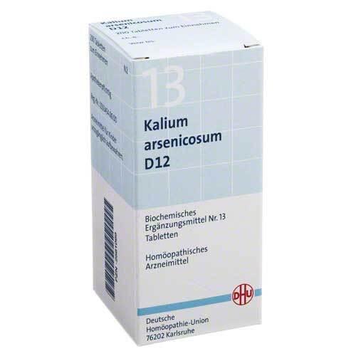 Biochemie DHU 13 Kalium arsenicosum D 12 Tabletten - 1