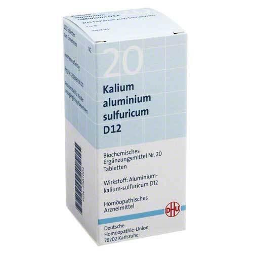 Biochemie DHU 20 Kalium aluminium sulfuratum D 12 Tabletten - 1