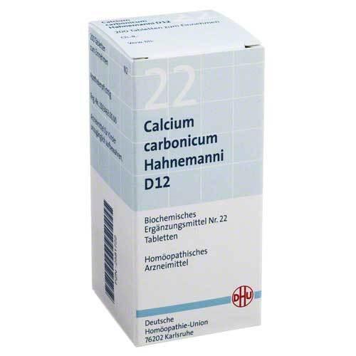Biochemie DHU 22 Calcium carbonicum D 12 Tabletten - 1
