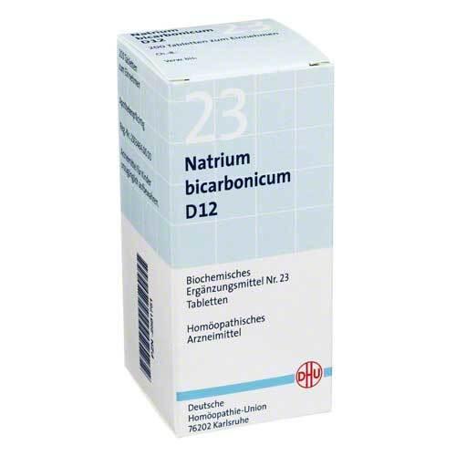 Biochemie DHU 23 Natrium bicarbonicum D 12 Tabletten - 1