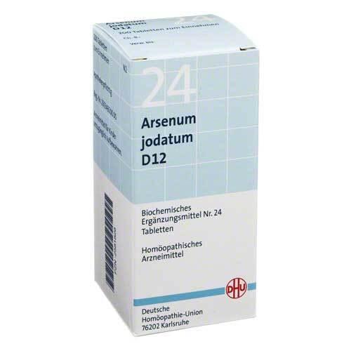 Biochemie DHU 24 Arsenum jodatum D 12 Tabletten - 1