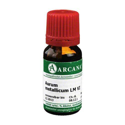 Aurum metallicum Arcana LM 6 Dilution - 1