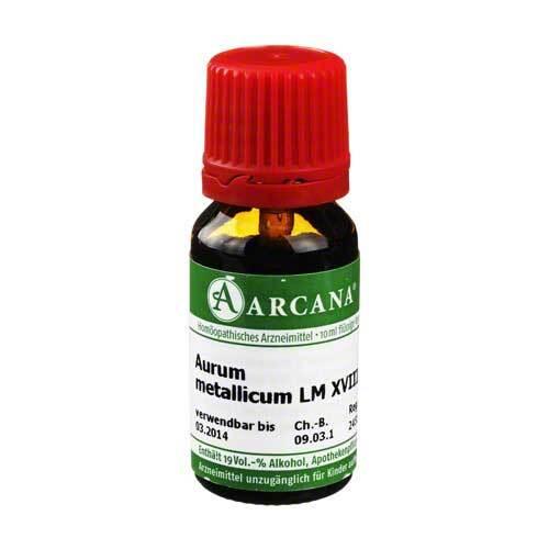 Aurum metallicum Arcana LM 18 Dilution - 1