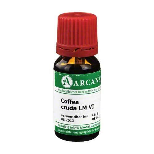 Coffea Cruda Arcana LM 6 Dilution - 1
