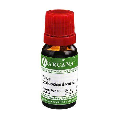 Rhus toxicodendron Arcana LM 6 Dilution - 1
