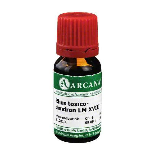 Rhus toxicodendron Arcana LM 18 Dilution - 1