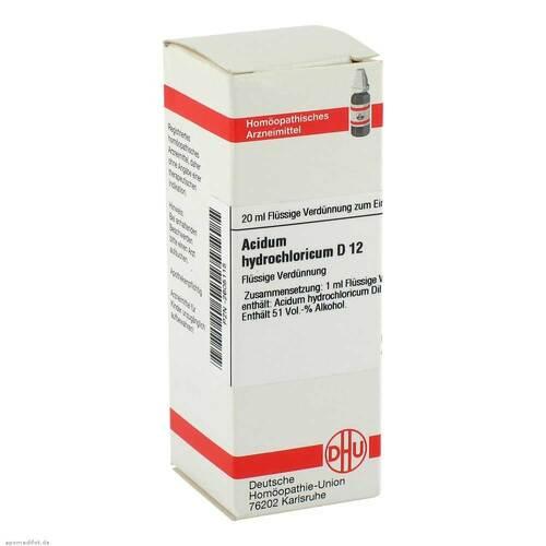 DHU Acidum hydrochloricum D 12 Dilution - 1