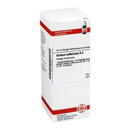 DHU Acidum sulfuricum D 4 Dilution - 1
