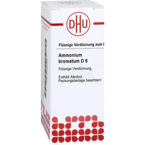 Ammonium bromatum D 6 Dilution - 1
