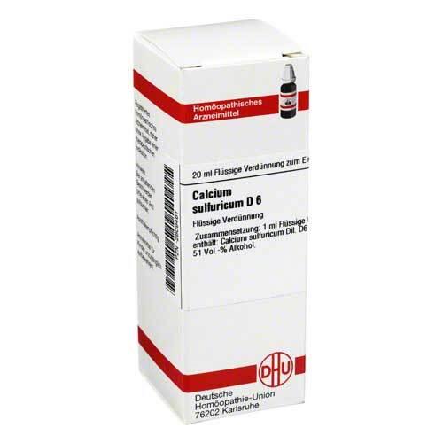 Calcium sulfuricum D 6 Dilution - 1