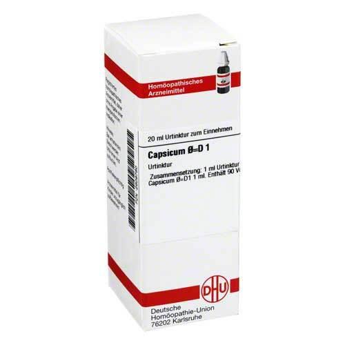 DHU Capsicum Urtinktur D 1 - 1