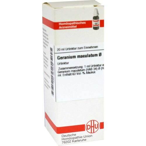 DHU Geranium Maculatum Urtinktur - 1