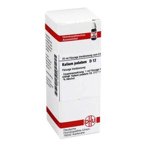 DHU Kalium jodatum D 12 Dilution - 1