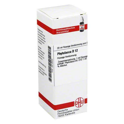 DHU Phytolacca D 12 Dilution - 1