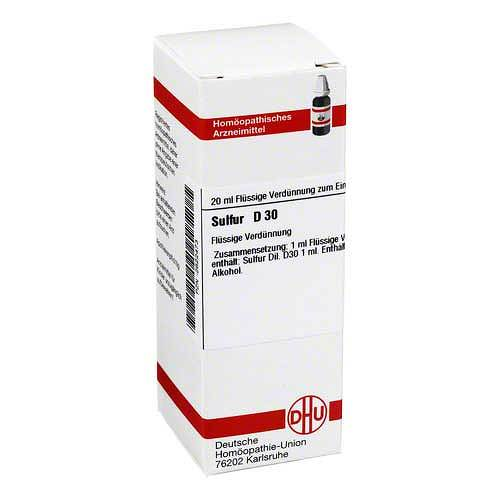 DHU Sulfur D 30 Dilution - 1