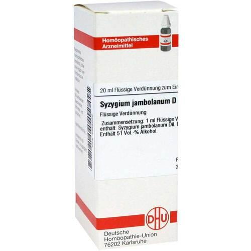 Syzygium jambolanum D 6 Dilution - 1