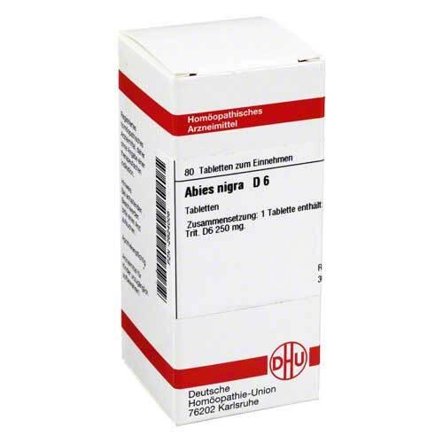 DHU Abies nigra D 6 Tabletten - 1