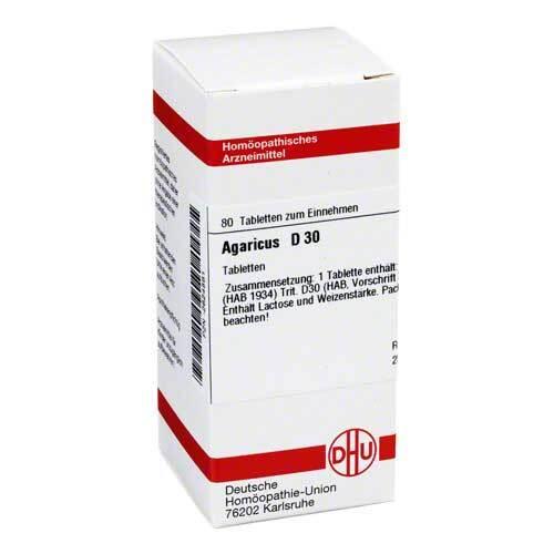 Agaricus D 30 Tabletten - 1