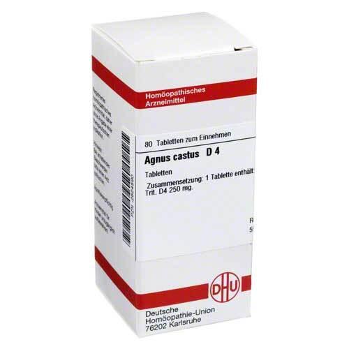 DHU Agnus castus D 4 Tabletten - 1
