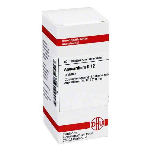 DHU Anacardium D 12 Tabletten - 1