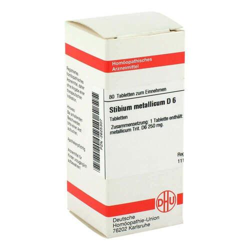 DHU Stibium metallicum D 6 Tabletten - 1