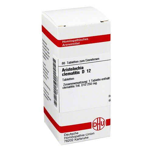Aristolochia clematitis D 12 Tabletten - 1