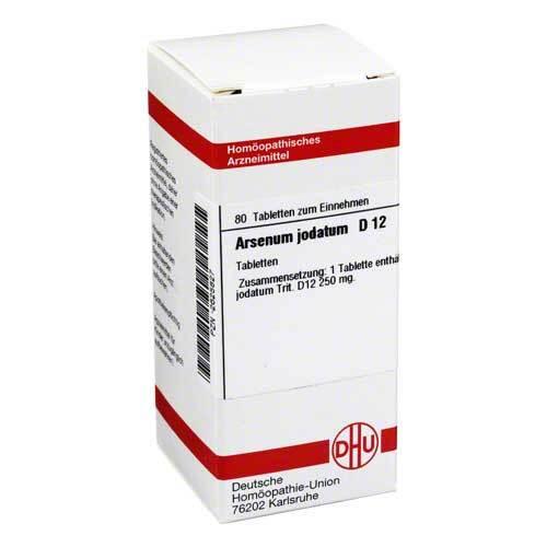 Arsenum jodatum D 12 Tabletten - 1