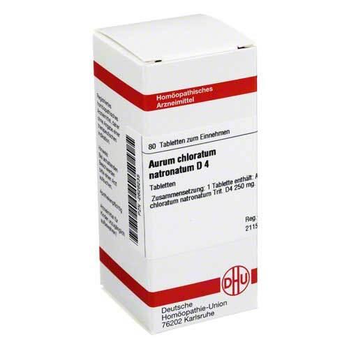 Aurum chloratum natronatum D 4 Tabletten - 1