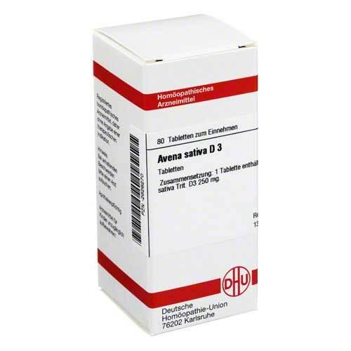Avena sativa D 3 Tabletten - 1