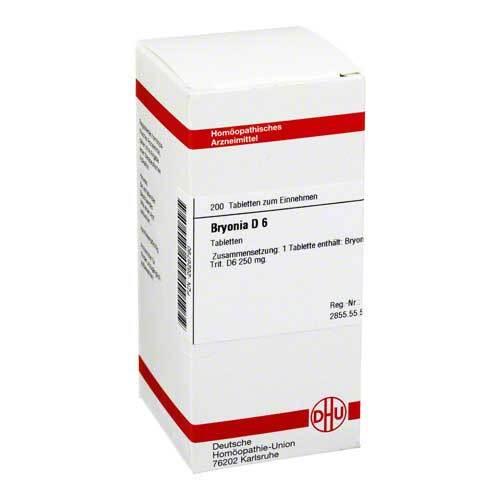 Bryonia D 6 Tabletten - 1