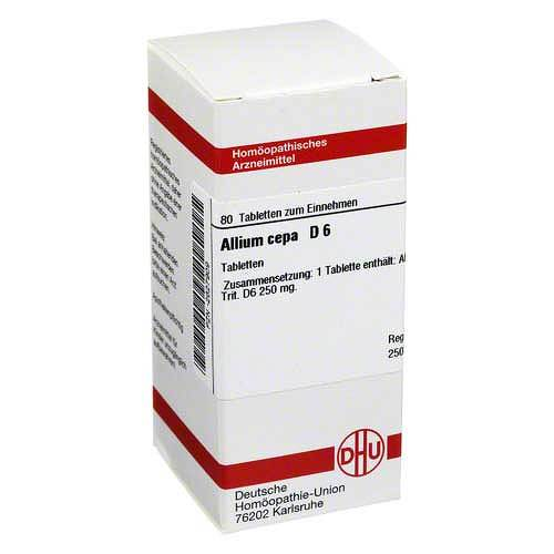 Allium cepa D 6 Tabletten - 1