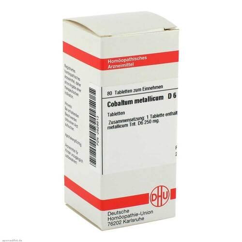 DHU Cobaltum metallicum D 6 Tabletten - 1