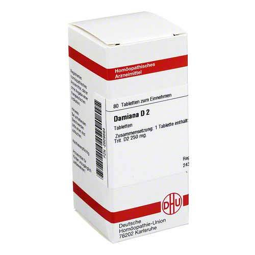 DHU Damiana D 2 Tabletten - 1