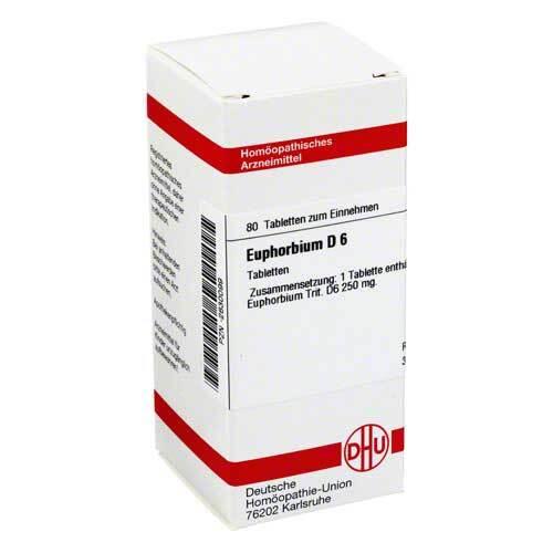 Euphorbium D 6 Tabletten - 1
