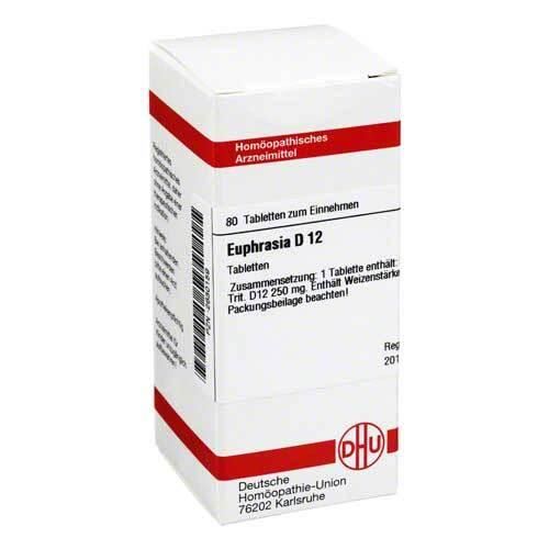 DHU Euphrasia D 12 Tabletten - 1