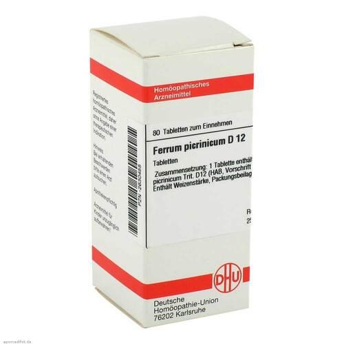 Ferrum picrinicum D 12 Tabletten - 1