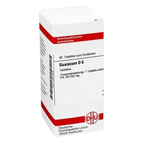 DHU Guaiacum D 6 Tabletten - 1