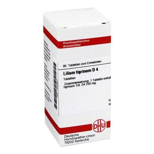 DHU Lilium tigrinum D 4 Tabletten - 1