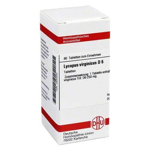 Lycopus virg. D 6 Tabletten - 1