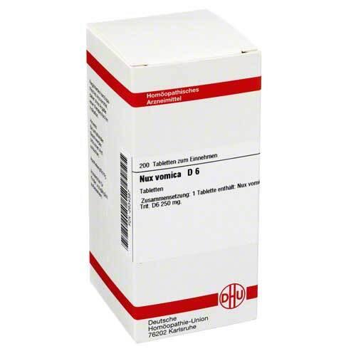 DHU Nux vomica D 6 Tabletten - 1